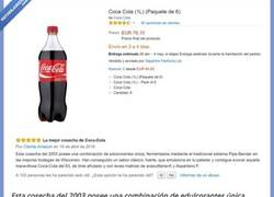Enlace a Venden en Internet una CocaCola por 76 euros