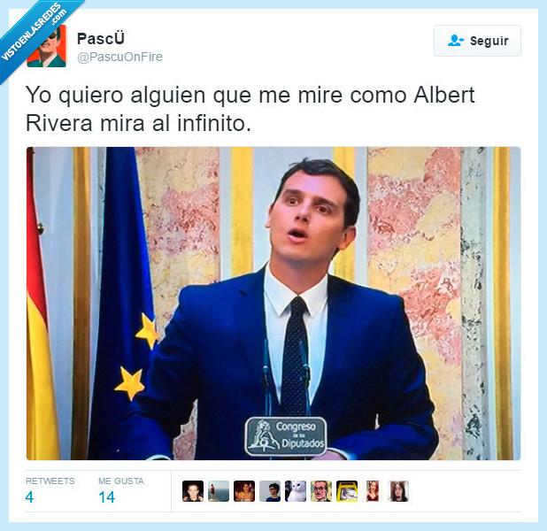 Albert Rivera,amor,cielo,infinito,mirada,mirar