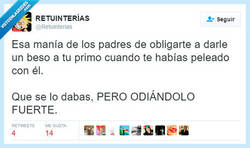 Enlace a Te doy un beso, sí, pero deseo tu muerte por dentro por @retuinterias