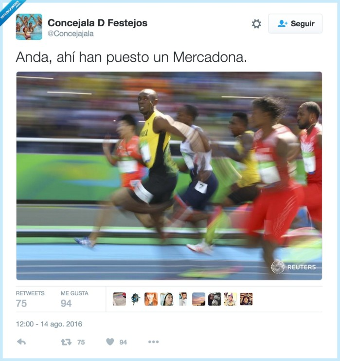 bolt,correr,mercadona
