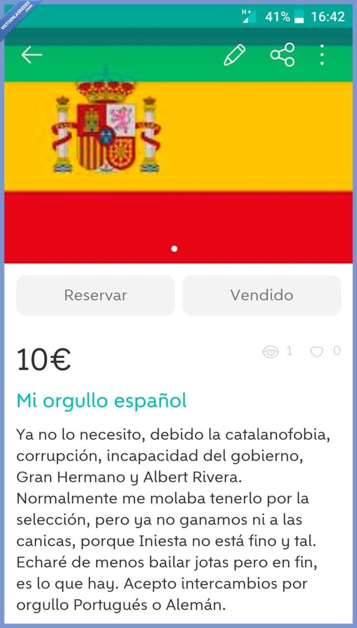 comprar,España,español,iniesta,orgullo,perder,vender