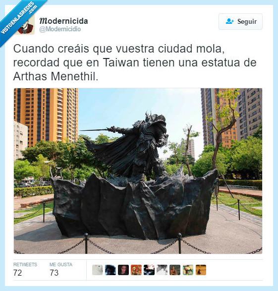 Arthas Menethil,ciudad,recordar,Taiwan,worldof warcraft,wow