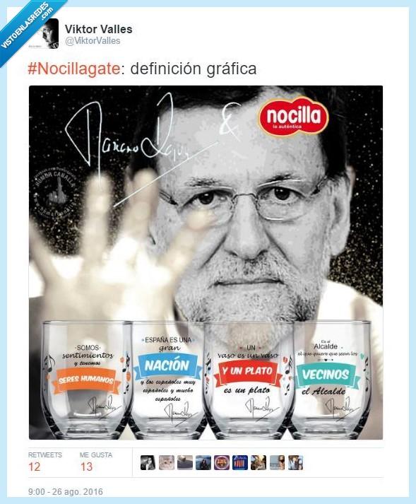 Mariano Rajoy,nocilla,política,pp,rajoy