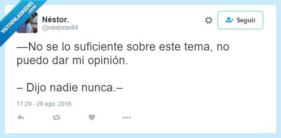 Ironía,Nadie,Nunca,Tweet
