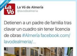 Enlace a Una detención muy merecida, menudo temerario por  @lavodealmeria