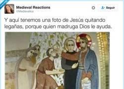Enlace a A quien madruga Dios le ayuda, por @Medievalico