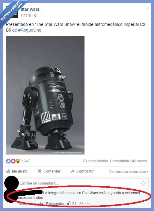 imperial,integración racial,negro,R2-D2