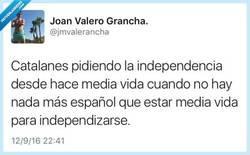 Enlace a Poco españoles para unas cosas y mucho para otras, por @jmvalerancha