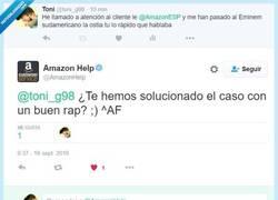 Enlace a Amazon resolviendo problemas con rap