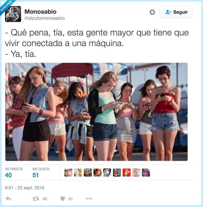 adolescentes,conectados,máquinas,móviles