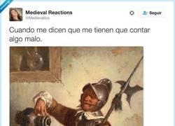 Enlace a Espera que me pongo cómodo, por @Medievalico