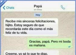 Enlace a Cuando los mensajes de tu padre siempre van con segundas