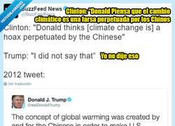 Enlace a La estrategia de Trump es negarlo todo, hasta que lo pillan