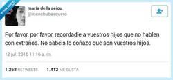 Enlace a Por favor alejadme vuestros hijos por @menchubasquero