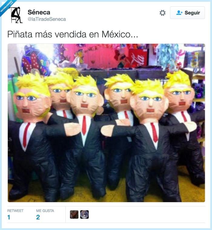 mexico,piñata,trump