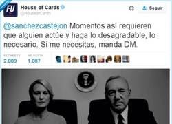 Enlace a El CM de House of Cards es un Dios