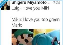 Enlace a Hasta el propio Miyamoto se ríe de Luigi