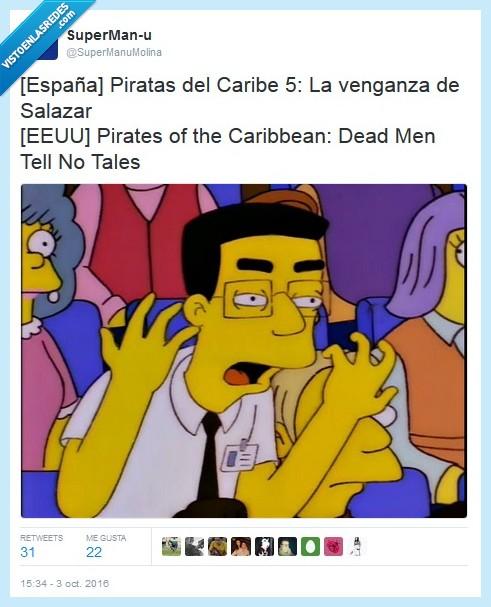 eeuu,españa,piratas del caribe 5,título