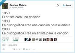 Enlace a Cómo ha cambiado la música, por @Capitan_Mahou