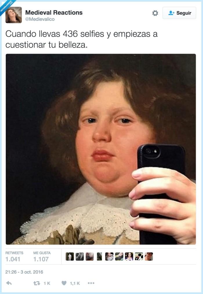 belleza,cuestionar,selfie