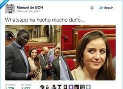 Enlace a Pensando en el negro de whatsapp, por @Manuel_de_BCN