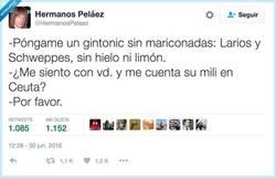 Enlace a Los hipsters no saben que antes los gintonic eran de casposos, por @HermanosPelaez