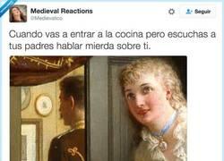 Enlace a Mejor me ausento un rato, por @Medievalico