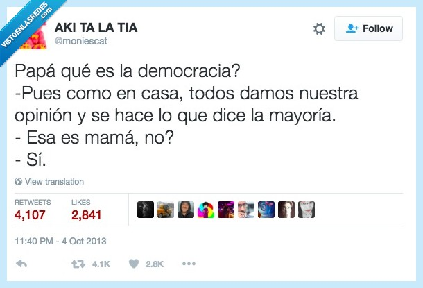 democracia,mama