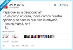 Enlace a La mejor explicación de la democracia, por @moniescat