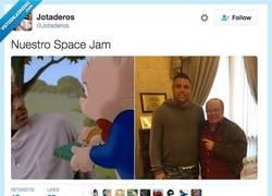 Enlace a Nuestro space jam, por @Jotaderos