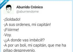 Enlace a ¡Me ha pillao desprevenio! por @aburriendome