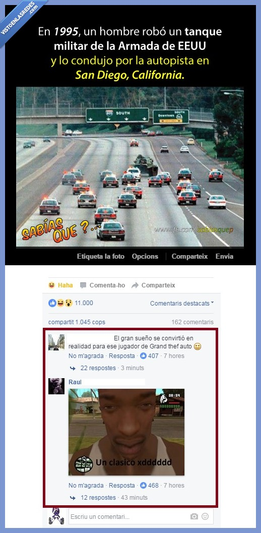 CJ,Facebook,GTA,San Andreas,Soy el MG 11000