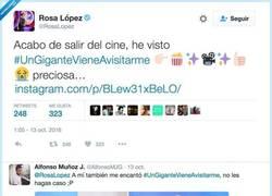 Enlace a La respuesta del director de la película Bayona al fail de Rosa