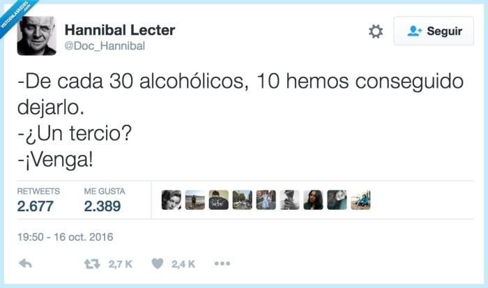 alcoholicos,beber,tercio