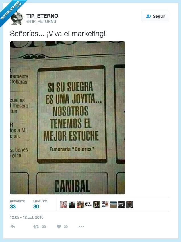 marketing,periódico,suegra