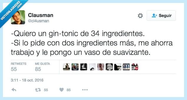 demasiado,gin tonic,moderno,postureo