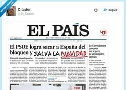 Enlace a Gracias PSOE por salvar la Navidad por @El_Citador