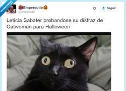 Enlace a Leticia Sabater ya se está preparando para halloween por @empercutio