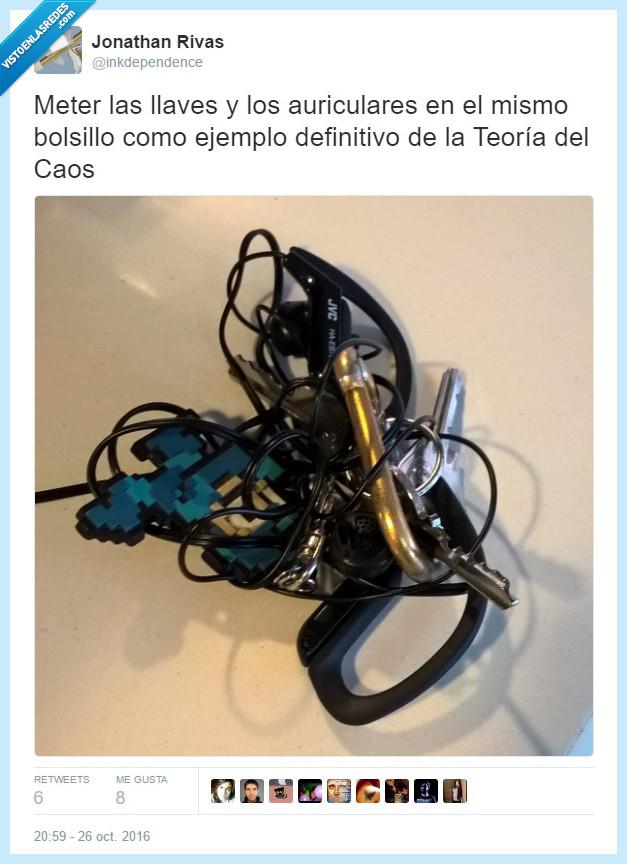 cables,caos,llaves,teoría