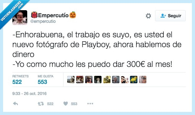 fotografo,playboy,sueldo
