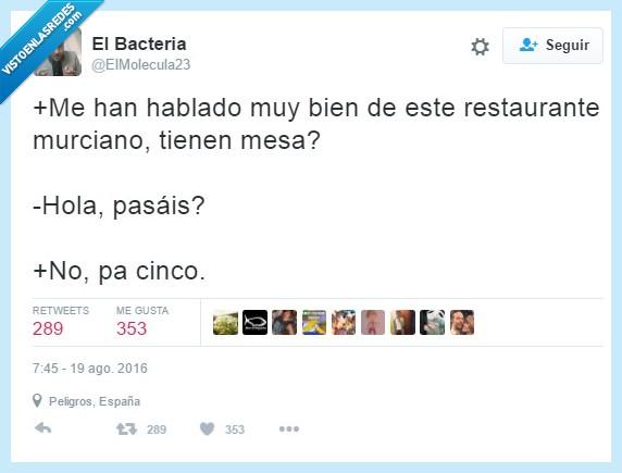 hablan raro,Murcia,nadie los entiende