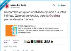 Enlace a La @policia la LIA PARDA con este tweet y SE LO EXPLICAN