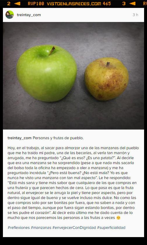 envejecer,manzanas,superficialidad