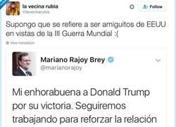 Enlace a Trump & Rajoy, por @lavecinarubia