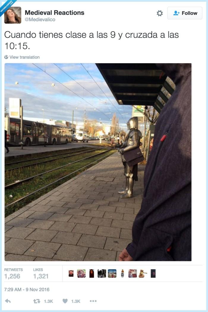 cruzada,esperar,tren