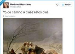 Enlace a Frío horrible, por @Medievalico