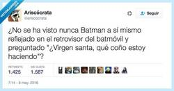 Enlace a Batman, ¿qué haces con tu vida? por @ariscocrata