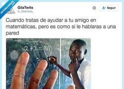 Enlace a Las matemáticas no son lo tuyo... por @_GilaTwits_