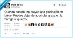 Enlace a Más vale almacenar que morirse de frío por @olaladefua