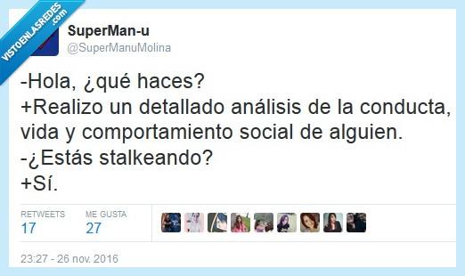 análisis,social,stalkear
